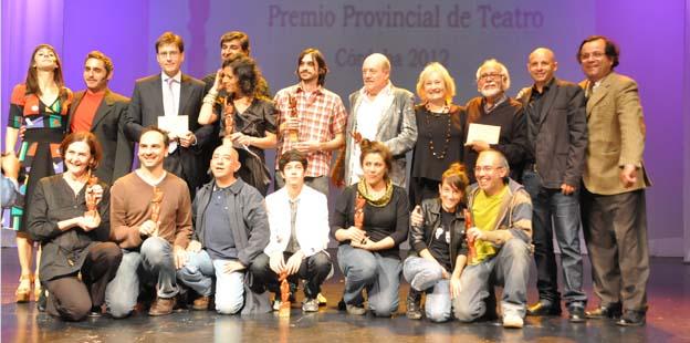 """Ganadores del """"Premio Provincial de Teatro 2012"""""""