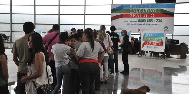 Boleto Educativo en Nueva Terminal