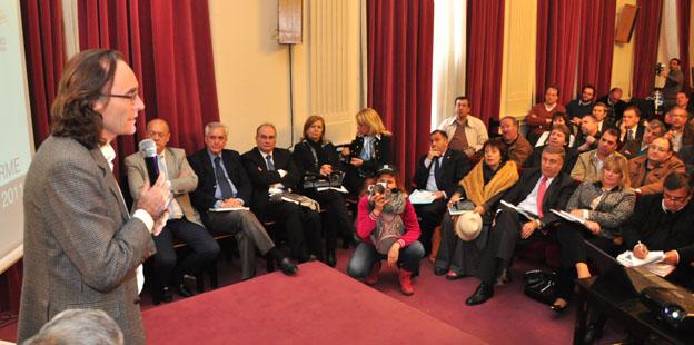 Presentación Legislatura Informe Anual de la Caja de Jubilaciones