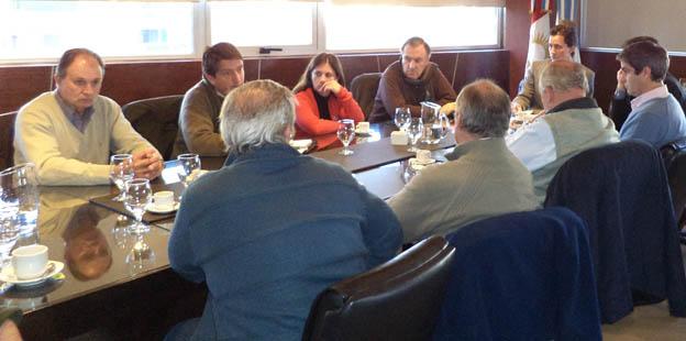 Reunión con Ministro Calvo