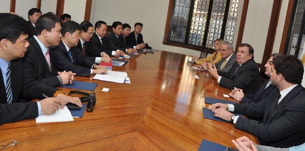 Secretaria de Integración Regional mision Chong King