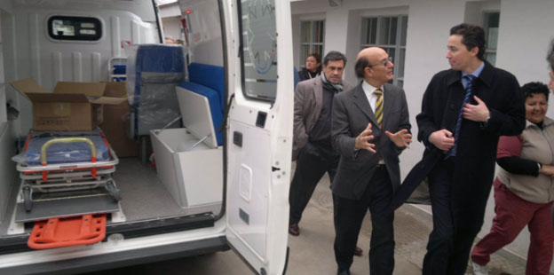 Nueva ambulancia para Malvinas Argentinas