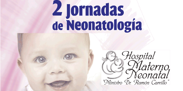 Jornadas Neonatología, el viernes 24 de agosto desde las 8 horas.