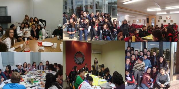 Los encuentros del programa de orientación vocacional-ocupacional, se realizan fuera del ámbito escolar