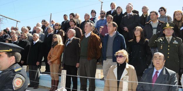 Néstor Scalerandi en el acto de inauguración Sociedad Rural de Córdoba