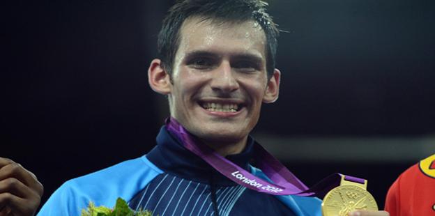 Sebastián Crismanich ganó el oro. Gentileza Cadena3