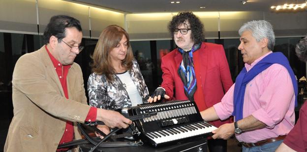 Entrega acordeon