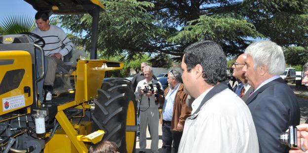 De la Sota entrega equipamiento en Almafuerte