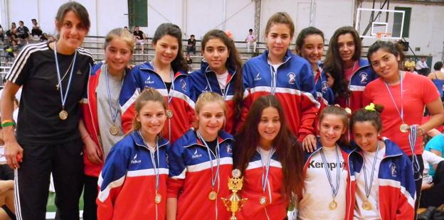 Equipo handball - Primer puesto
