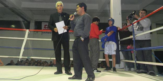 Inauguración gimnasio de boxeo