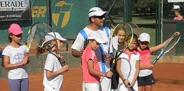 de la pena tenis x 2: