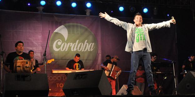 Damián Córdoba en Catamarca