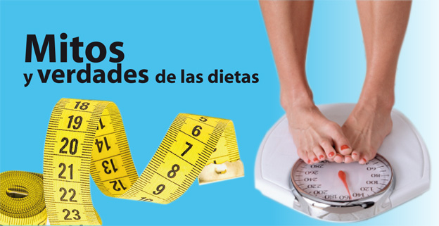 Mitos y verdades de las dietas
