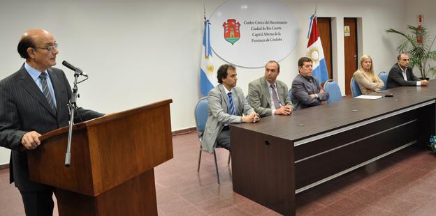 El Gabinete provincial sesionó en Río Cuarto.