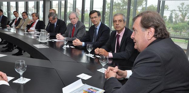 Herman Olivero se reunió con veinte embajadores de la Unión Europea