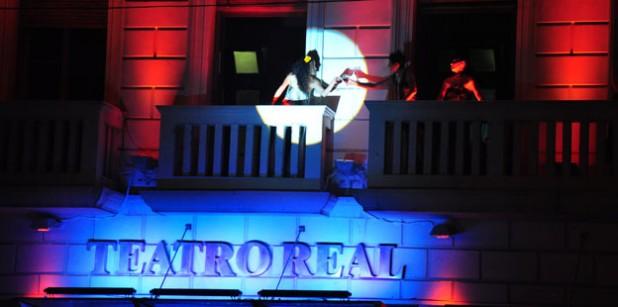 Nueva iluminación realza la fachada del Teatro Real - photo#29