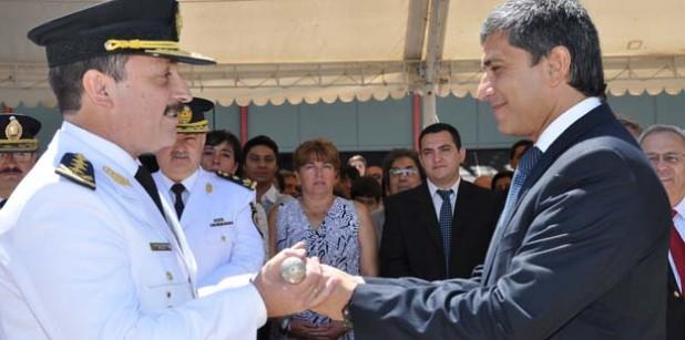 Asunción Nuevo Jefe de Policia Ramón Frías