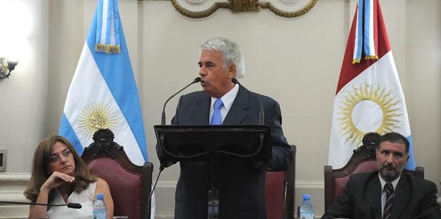 Apertura de sesiones: Gobernador José Manuel de la Sota