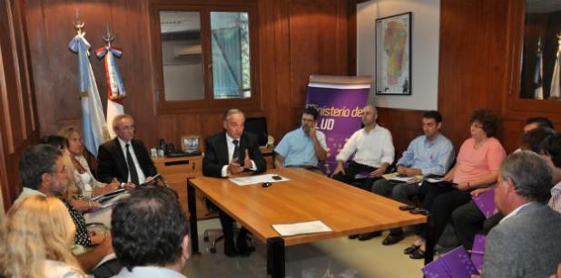 Reunión de la Comision de Seguimiento de Dengue
