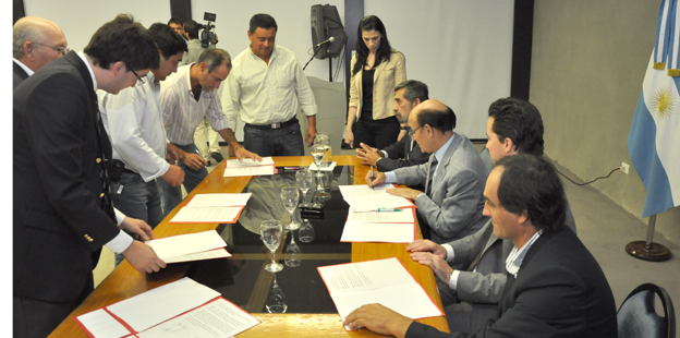 Firma con localidades del norte