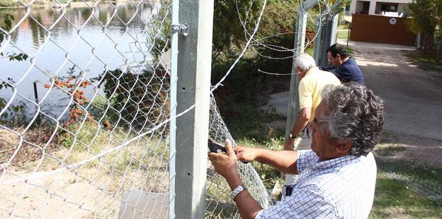 Desobstruyen acceso al dique San Roque