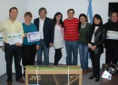 Ganadores del premio por el Da del Trabajador