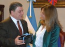 Alicia Pregno recibi en audiencia al Embajador de Armenia