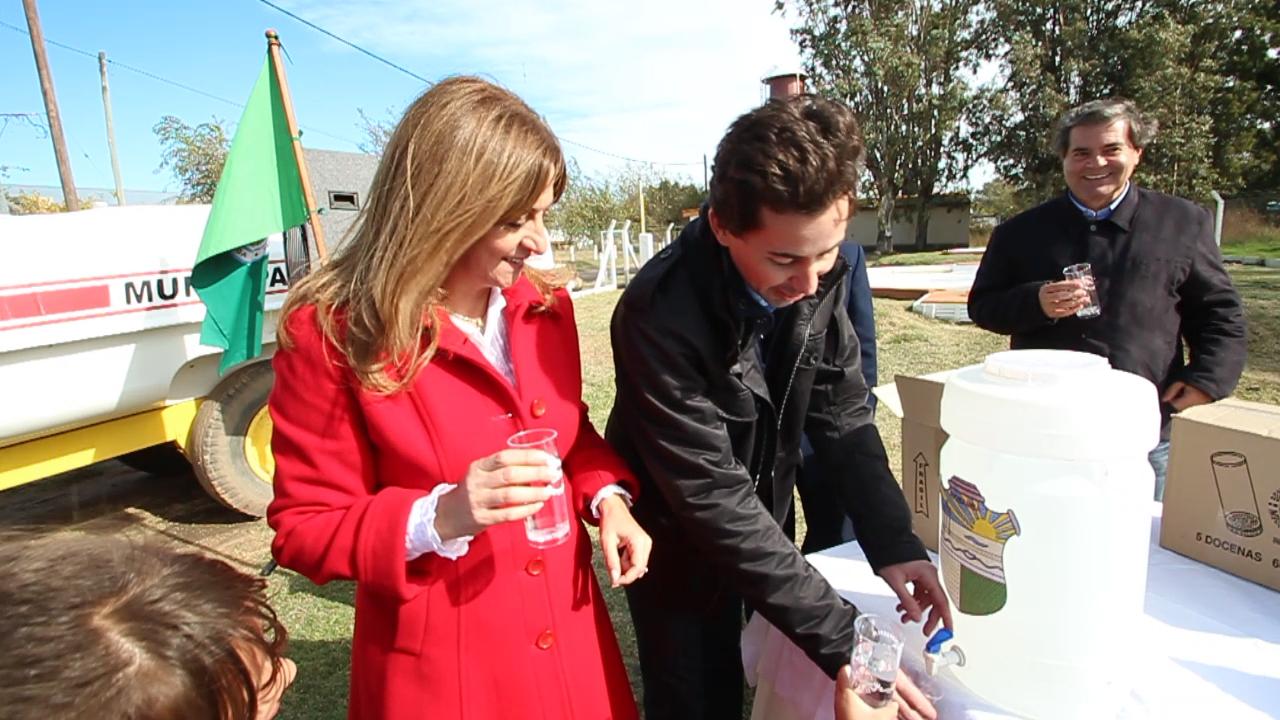Más obras de provisión de agua para Roque Sáenz Peña