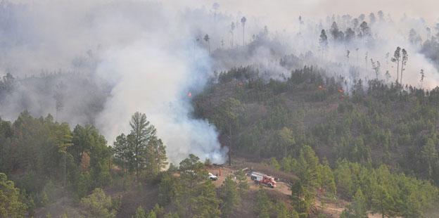 incendio Villa Alpina