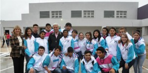 De la Sota inauguró el nuevo edificio escolar del IPEM 29, brindando amplios y cómodos espacios a 283 alumnos.