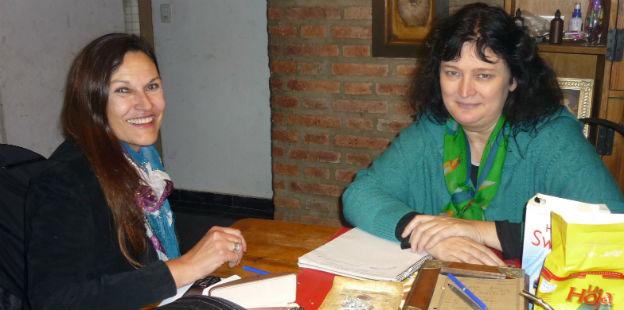 Messio y Peressutti analizaron alternativas de colaboración para combatir la trata.