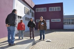 El nuevo edificio de la Escuela Superior Presidente Roque Sáenz Peña, presenta un avance del 98% aproximadamente. La obra demandó una inversión provincial de más de 10 millones de pesos.