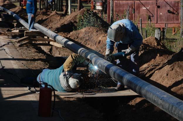 Obras de gas (archivo)