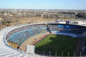 Estadio Kempes: Belgrano - Talleres. Archivo