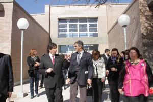 Además de inaugurar formalmente el nuevo edificio de los niveles inicial y primario de la Escuela Normal Superior, inauguraron ampliaciones en el edificio de la secundaria.