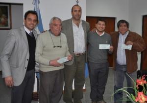 Los intendentes y jefes municipales beneficiados por la Tasa Vial