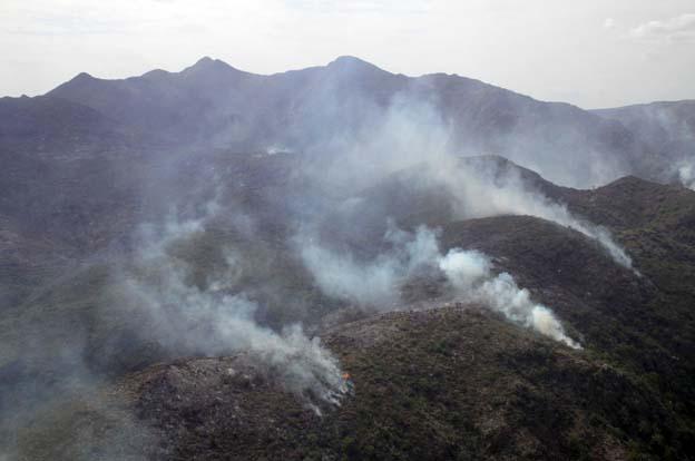 Alerta por condiciones de peligro para el desarrollo de incendios