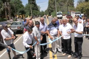 6 -El gobernador José Manuel de la Sota presidirá la inauguración de la repavimentación de la Ruta