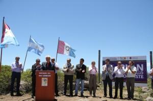 De la Sota inauguró obras eléctricas en Pocho
