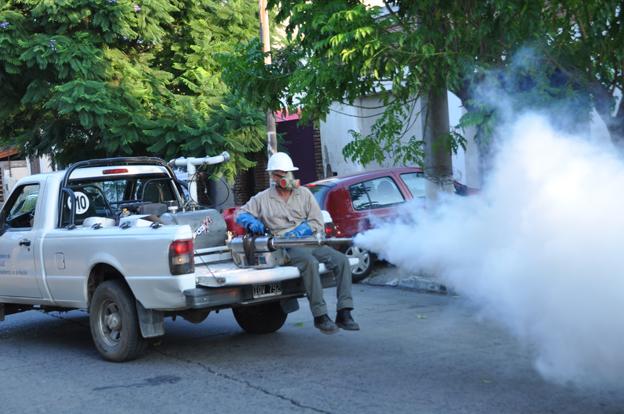 Las fumigaciones continúan el fin de semana