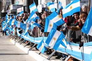 Desfile 9 de Julio en Marcos Juárez -archivo-