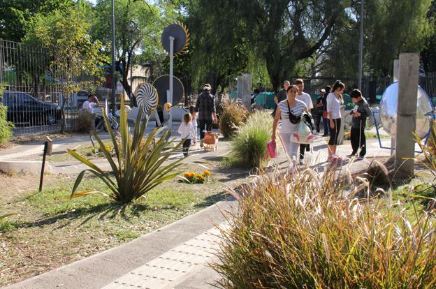 M s de 50 mil personas ya visitaron el jard n de los sentidos for Jardin de los sentidos