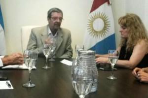 El ministro Roberto Avalle se reunión con industriales metalúrgicos