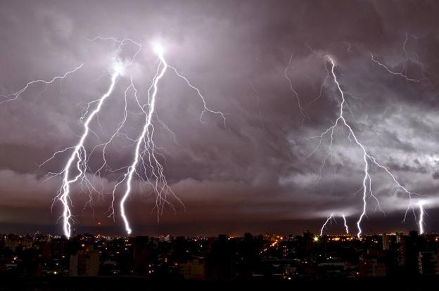 Alerta meteorológico para el sur y centro de Córdoba