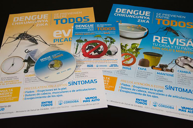 Se reportaron dos casos de zika importados