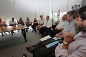 Esta mañana funcionarios del Ministerio de Educación provincial mantuvieron una reunión de trabajo con representantes de la cartera nacional.