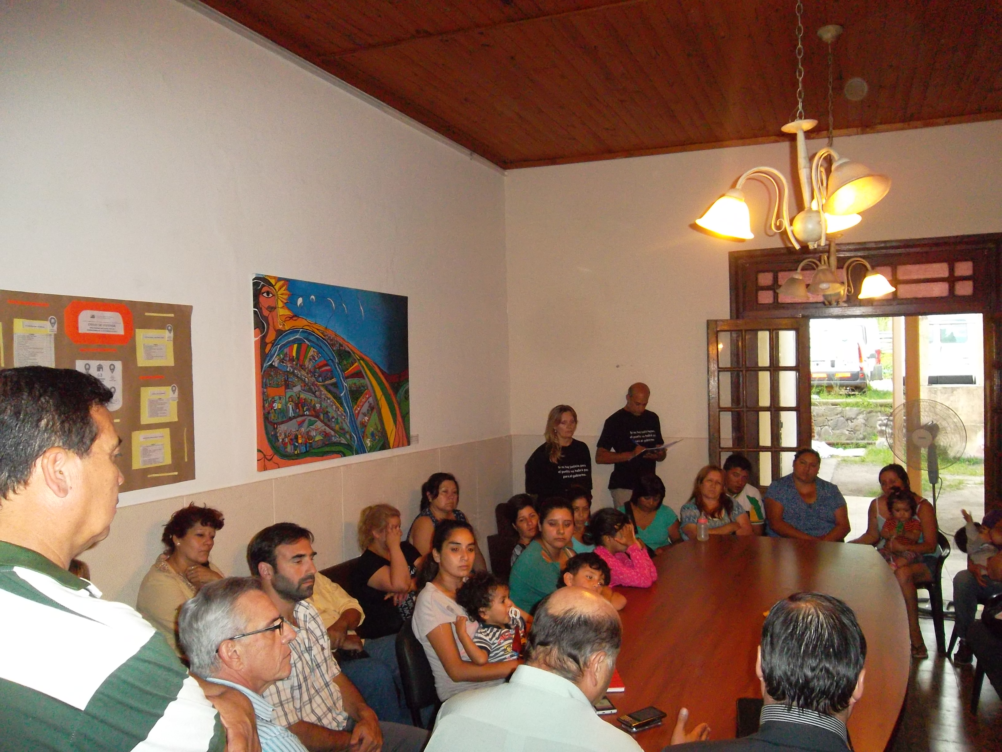 Sierras Chicas: trabajo conjunto con vecinos y autoridades locales
