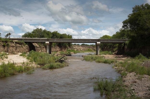 Avanza a buen ritmo el puente nuevo en Jesús María