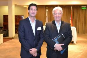 Abraham Galo, Subsecretario de Cooperativas y Mutuales de la Pcia y Marcelo Collomb Pte de INAES