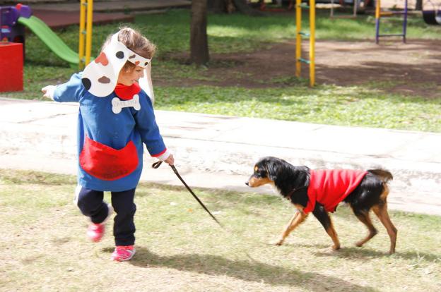 Niños de Desarrollo Social celebraron el Día del animal